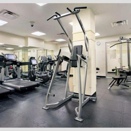 Fitness Center inside the building at 181 East 90th Street