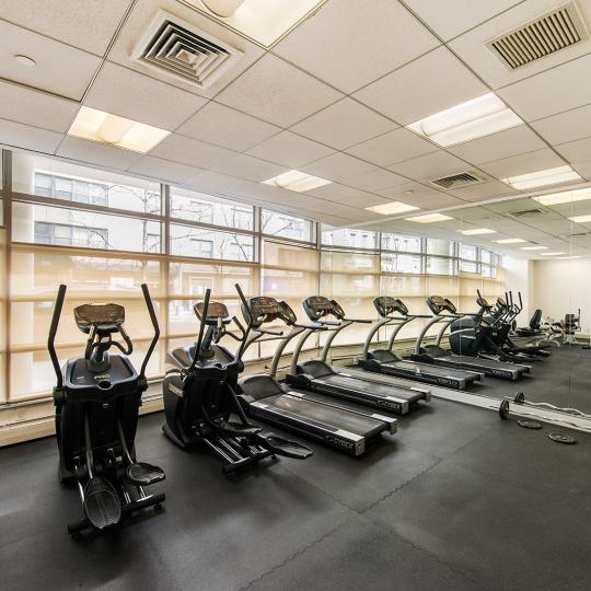 Fitness Center inside the building - 242 East 25th Street