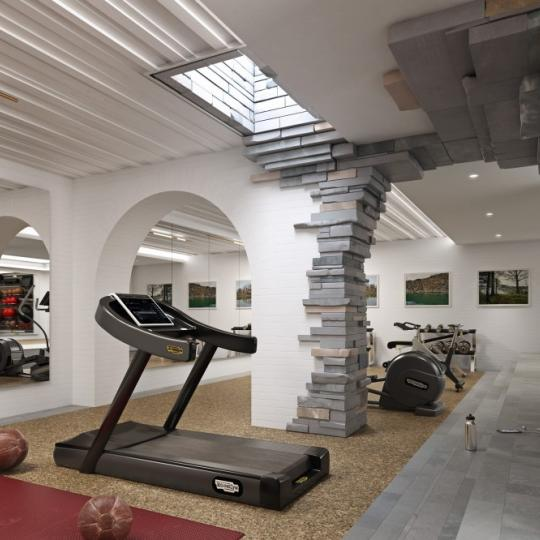 Fitness Center at 12 Warren Street in Tribeca - Condos for sale