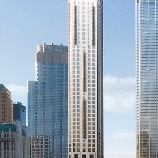 Four Seasons Hotel - Manhattan Condos - Building