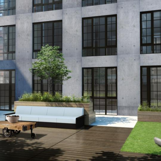Garden- 205 Water Street- NYC condo for sale