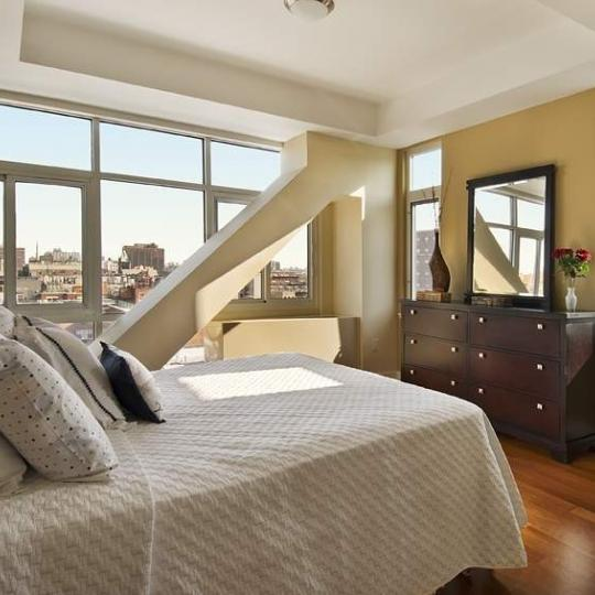 Bedroom at 106 West 116th Street in Manhattan - Condos for sale