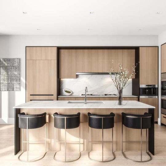 Apartments for sale at 215 East 19th Street in Gramercy Square  - Open Kitchen