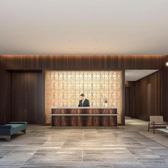 The Building's lobby at The Tower in Manhattan - Apartments for sale