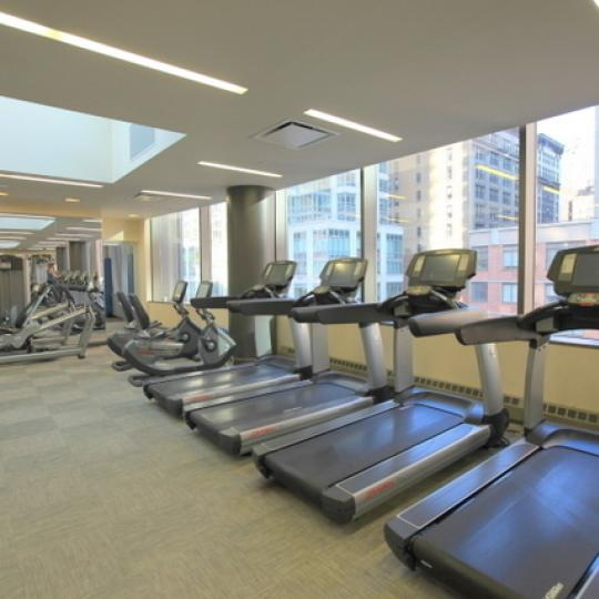 Chelsea Stratus NYC Condos - gym - 101 West 24th Apartments for Sale in Chelsea