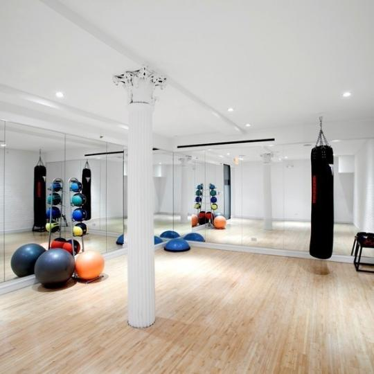 Yoga Studio at 15 USW - NYC Condos for Sale