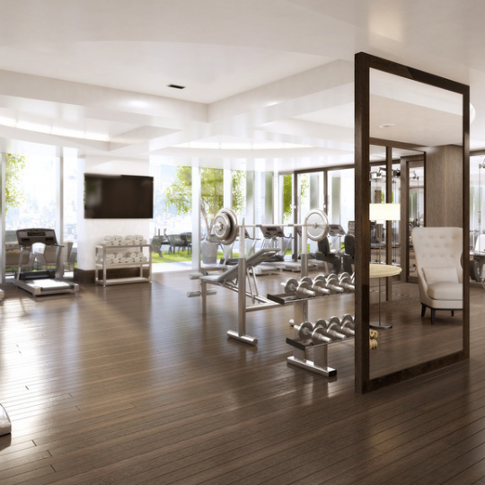 Gym at 35XV - Condos for Sale in Flatiron District