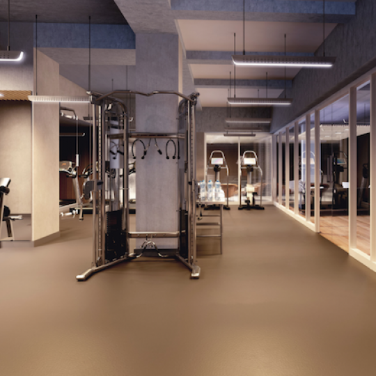 SIXTYFOUR at 300 E 64th Street Gym Fitness Amenities Apartments for Sale