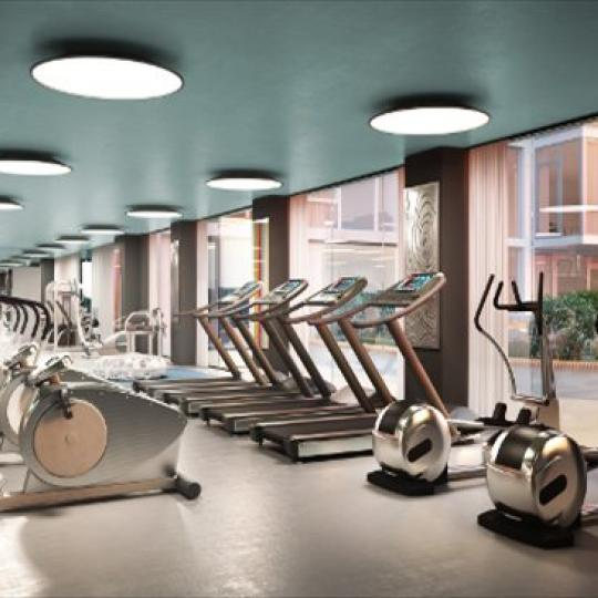 Fitness Center - The Avenue Collection - Condominium for sale in Weehawken