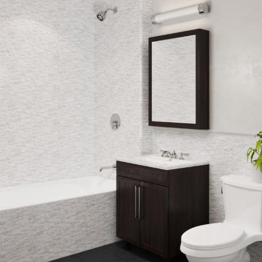 Bathroom at Harrison in Long Island City - Apartments for sale