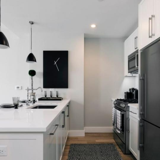 Condos for sale at 27-21 44th Drive in NYC - Open Kitchen