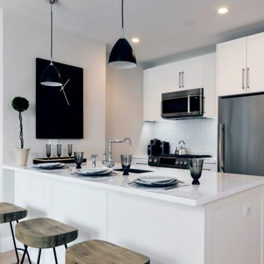 Open Kitchen at Harrison in Manhattan - Apartments for sale