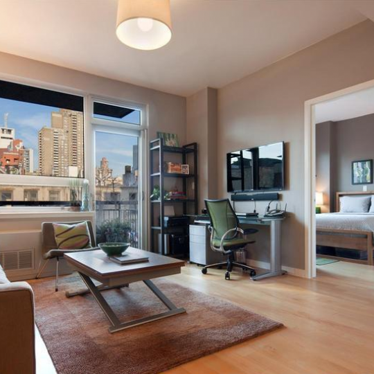 Living Room - 517 West 46th Street - Clinton - New York City - Condominiums