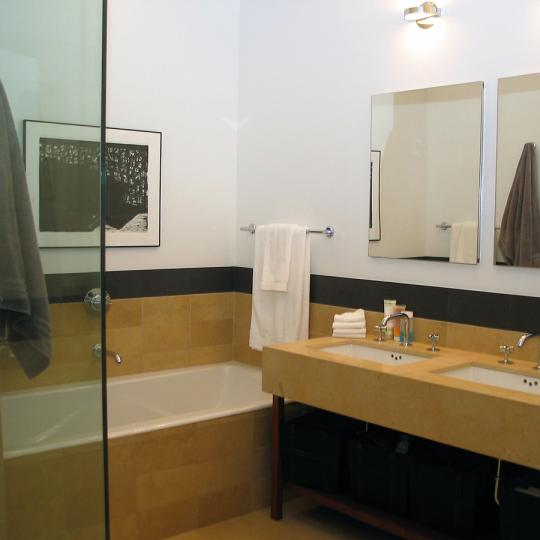 421 West 54th Street New Construction Condominium Bathroom