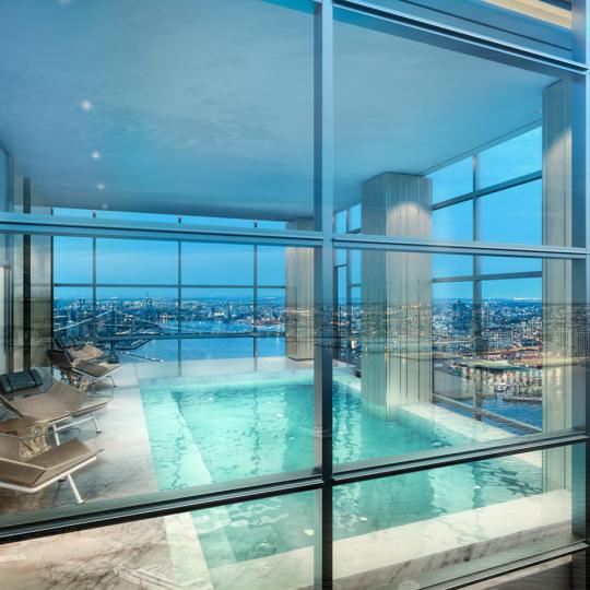 Indoor pool - 1 Seaport - Manhattan condos