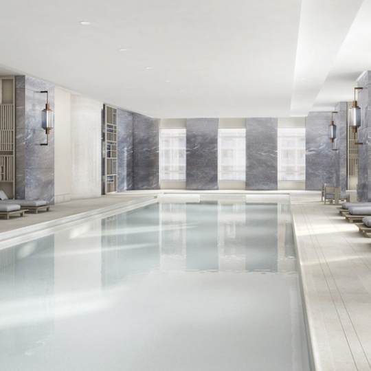 Four Seasons Hotel - Tribeca Apartments For Sale Indoor Pool Spa