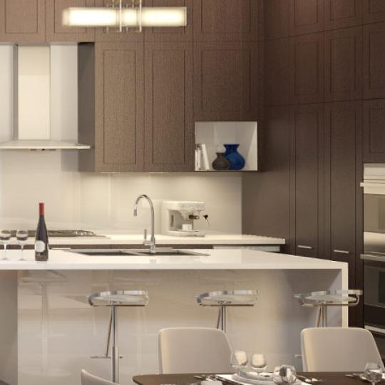 Kitchen- 72 Poplar Street- condo for sale in NYC