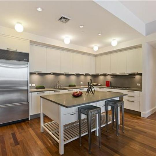 Kitchen- 92 Laight Street- Condominiums for sale in NYC