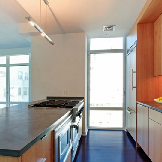Kitchen- 207 East 57th Street- condominiums for sale in Manhattan