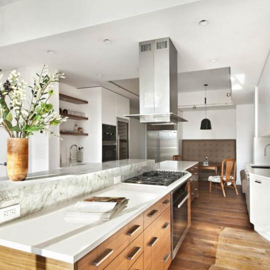 Apartments for sale at 123 Baxter Street in Little Italy - Kitchen