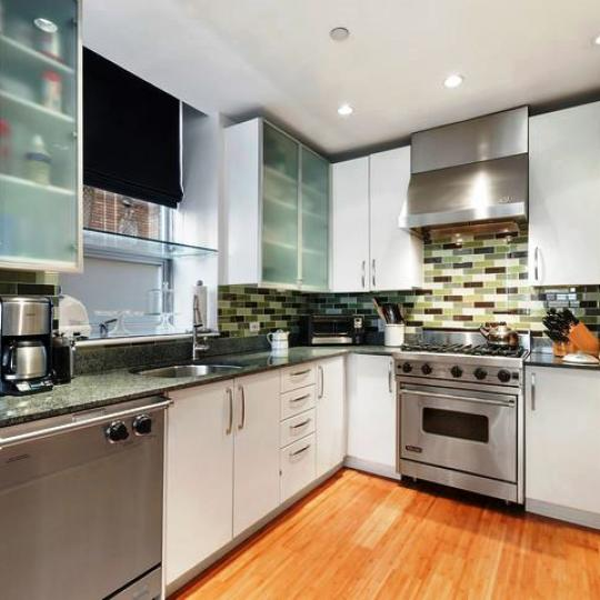 Open Kitchen at 201 West 17th Street in Chelsea