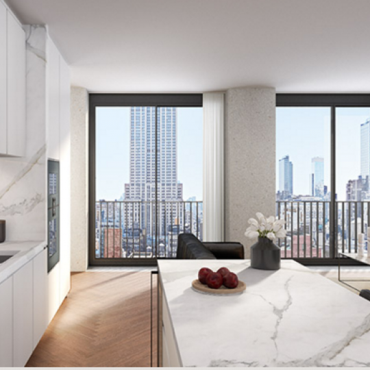 Condos for sale at 16 West 40th Street - Kitchen