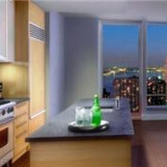 30 West Street Kitchen - NYC Condos for Sale