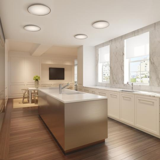 Kitchen - The Marquand Building - Upper East Side
