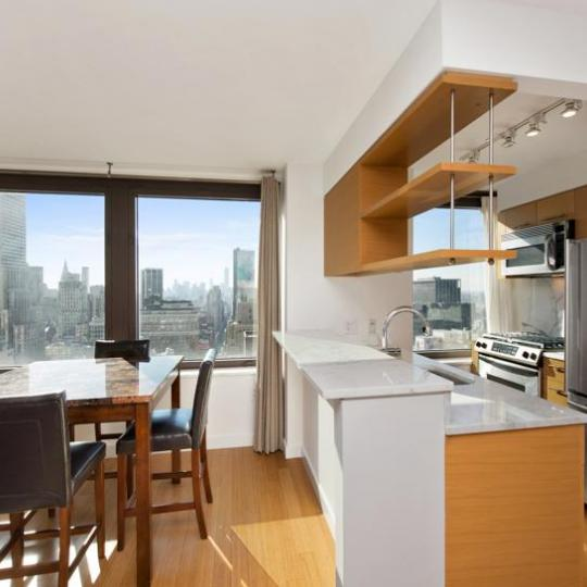 Open Kitchen at 100 West 39th Street in NYC