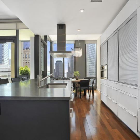 101 Warren Street NYC Condo for sale - kitchen