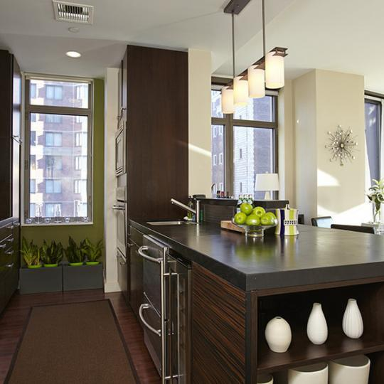 Chelsea Stratus NYC Condos - kitchen - 101 West 24th