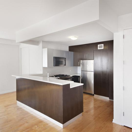 Kitchen - Echelon - Condos - Long Island City