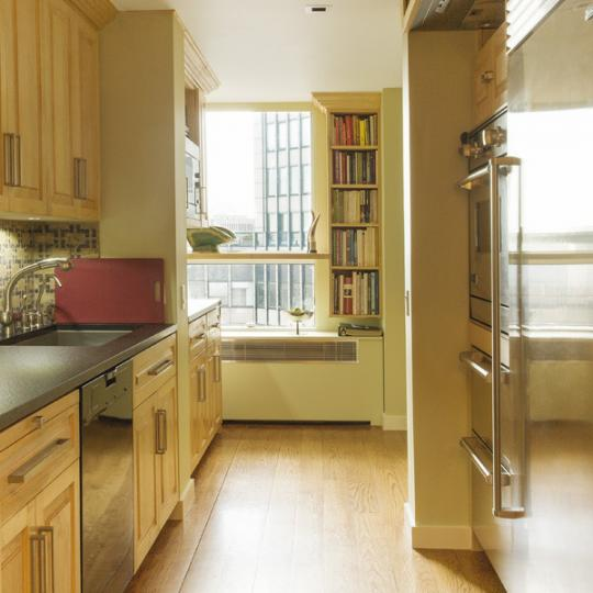 New York Condos - Kitchen - 146 West 57