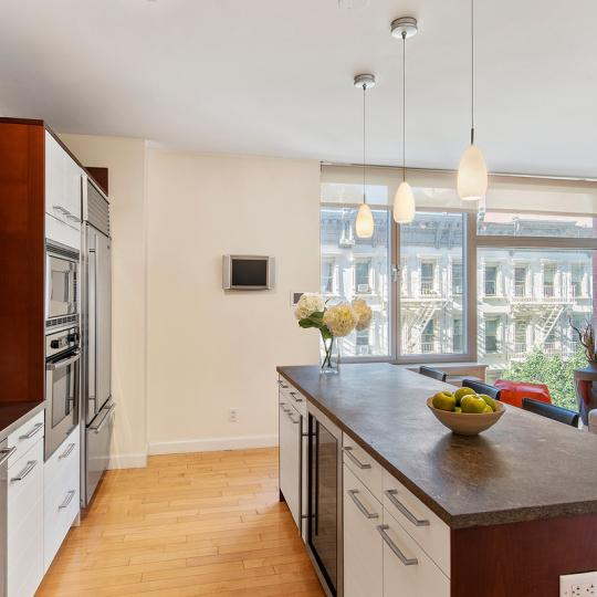 Open Kitchen at 151 West 17th Street in NYC
