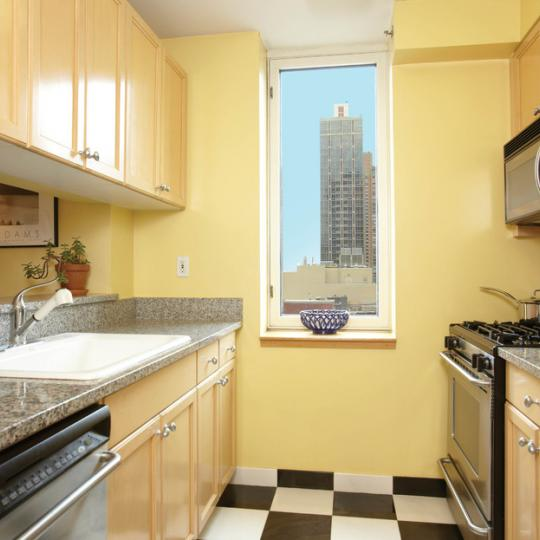 Kitchen at 1760 Second Avenue in NYC
