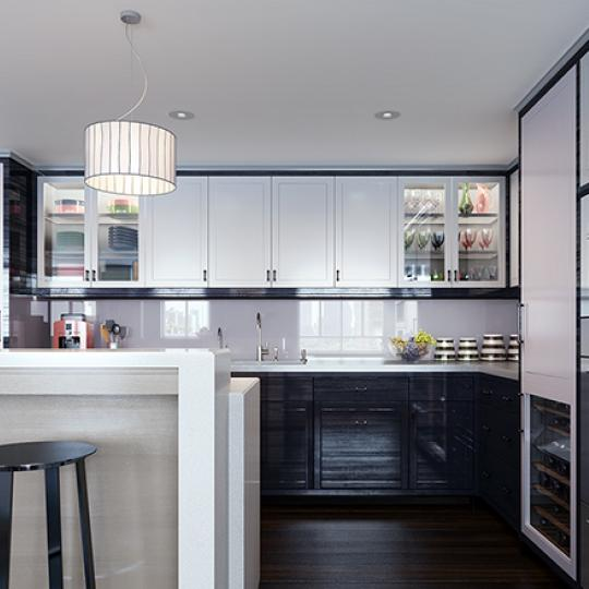 Kitchen - The Carlton House - Upper East Side