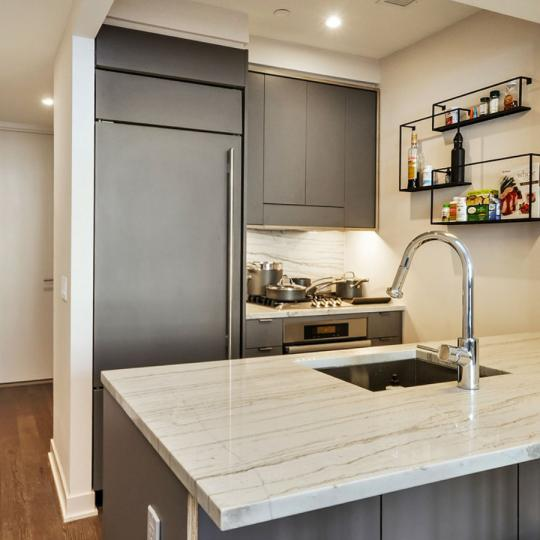 205 Water Street - Kitchen - condo for sale in NYC