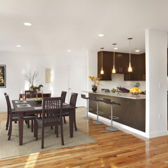 Kitchen The Gateway Tower - NYC Condominium for Sale