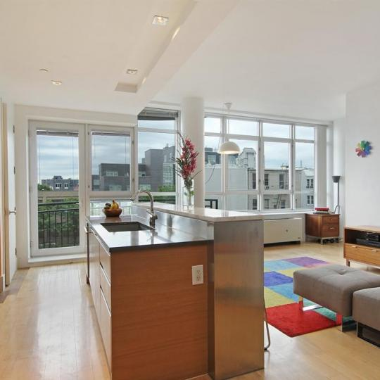 Kitchen at 20 Bayard Street - Apartment for Sale in Brooklyn