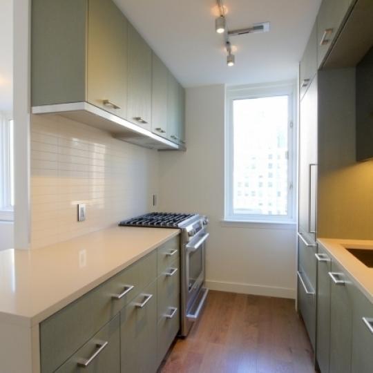 225 Rector Place Condos - Kitchen