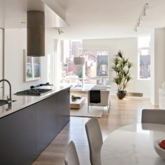 245 Tenth Avenue New Construction Building Kitchen – NYC Condos