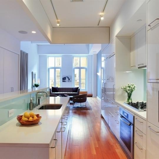 246 West 17th Street Kitchen - Manhattan Condos