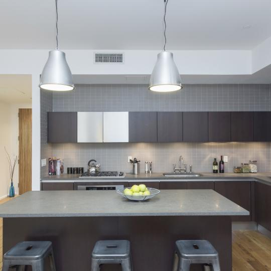 Condos for sale at 21 Astor Place in NYC - Kitchen