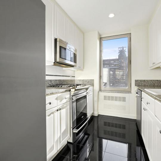 Kitchen at 308 East 72nd Street - Condos for sale