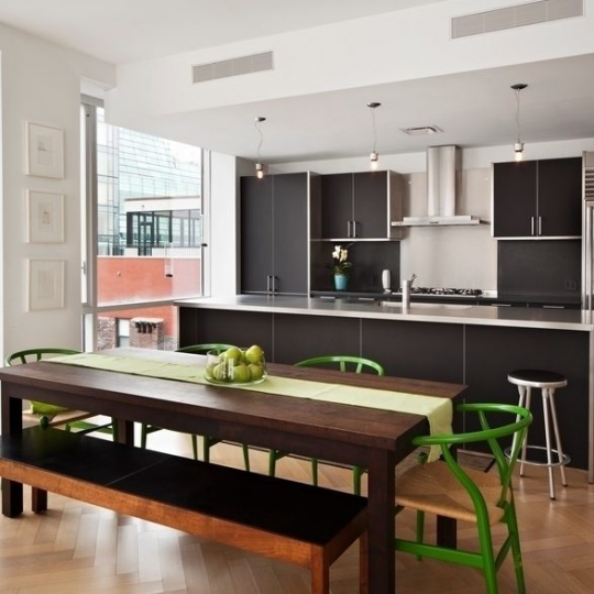 Kitchen at 330 Spring Street- condominiums for sale in Soho
