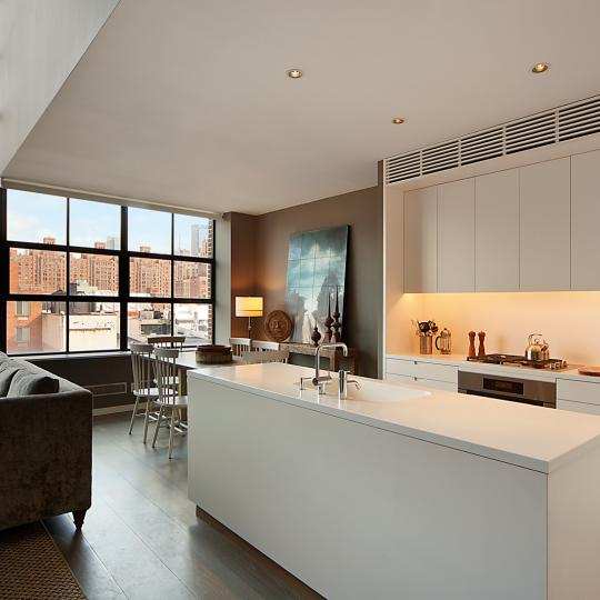 456 West 19th Street Kitchen – NYC Condos for Sale