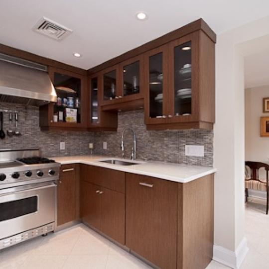 Kitchen - 45 West 67th Street - Manhattan Luxury Condos - Steel
