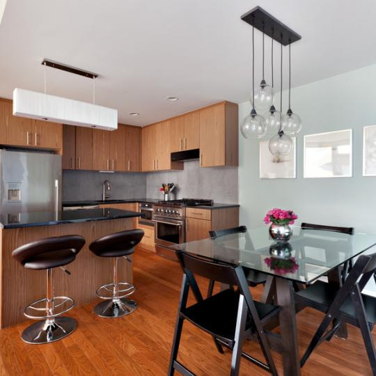 Kitchen & Dining Area - One Hunters Point - Condos - Long Island City