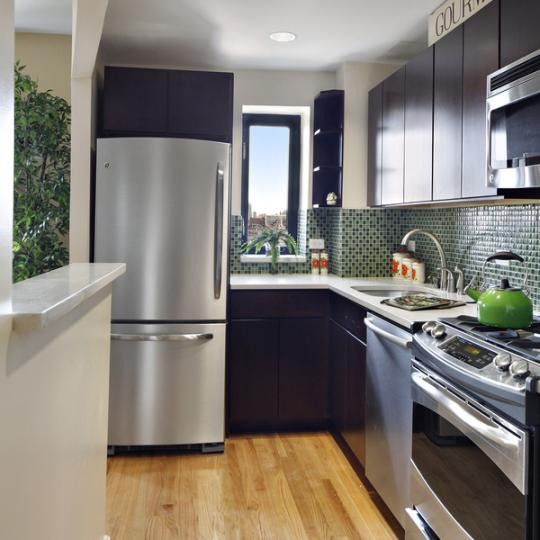 The Shelton - 775 Lafayette Avenue - Kitchen - Manhattan Condos for Sale