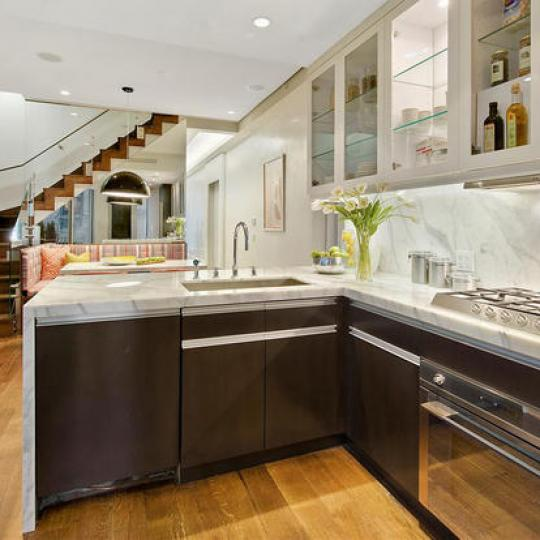 949 Park Avenue Kitchen - Upper East Side NYC Condominiums
